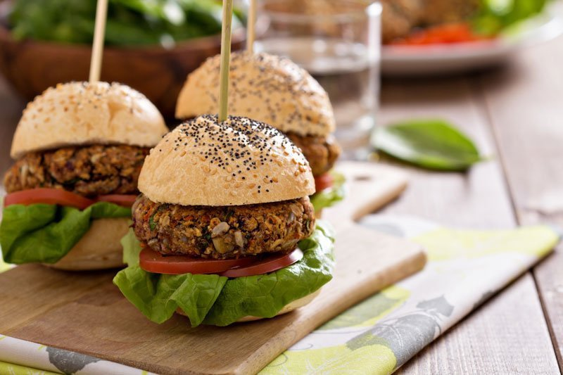 Football Burger Recipe